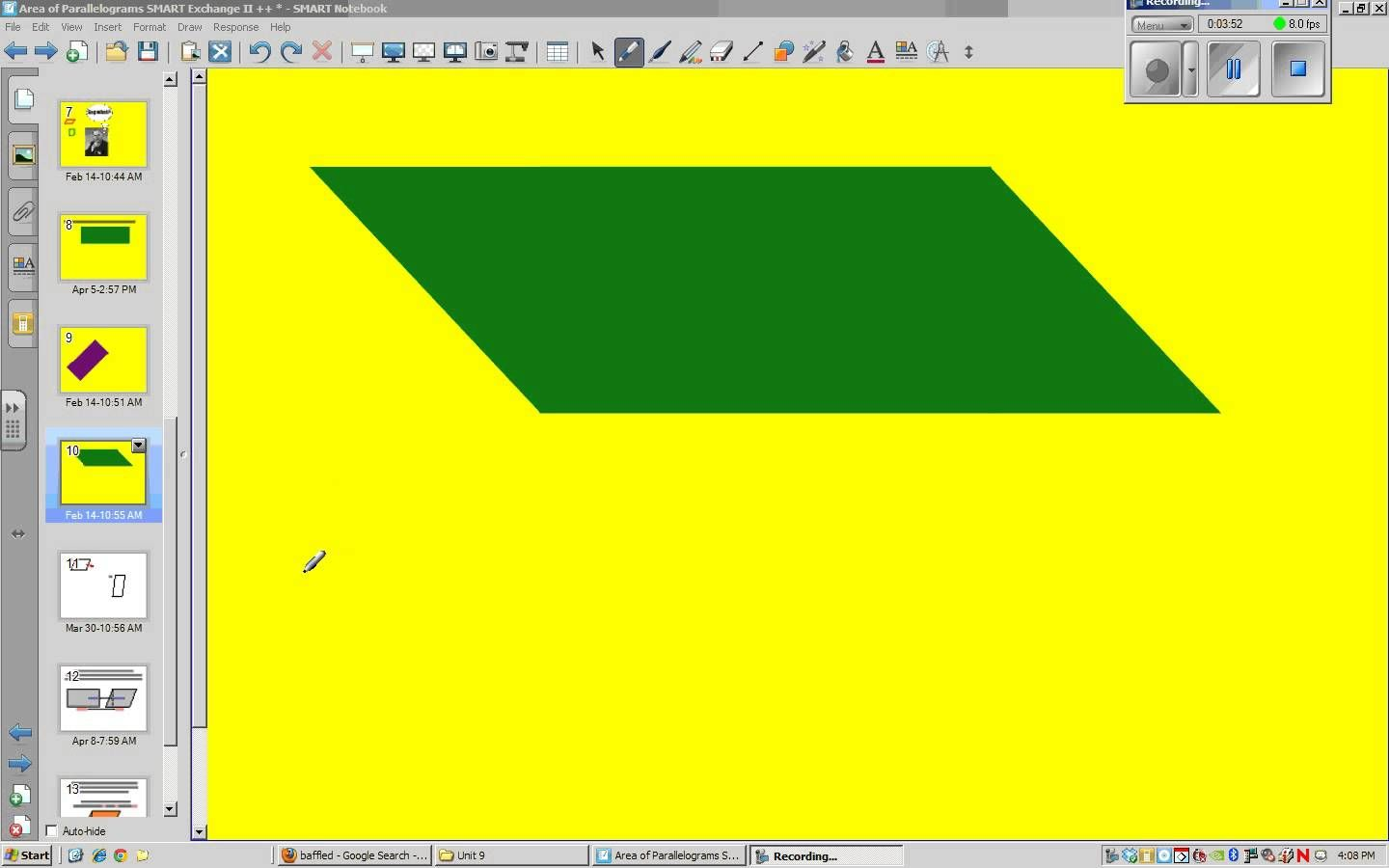 Lesson 9 How To Find The Area Of A Parallelogram