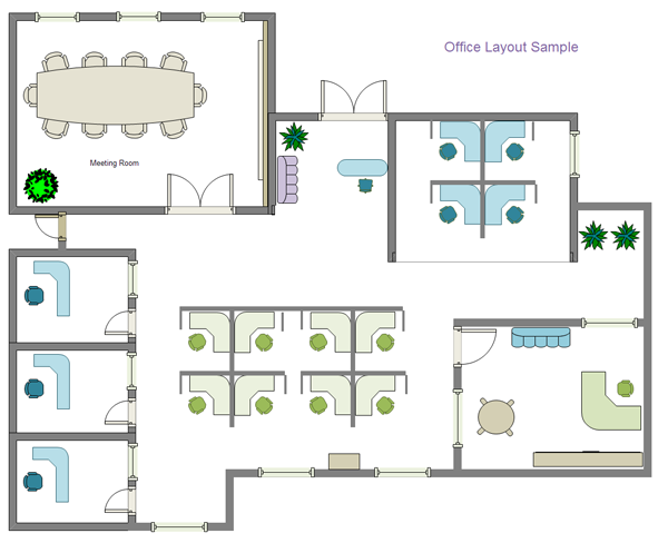 Office design layout plan new for New office layout design
