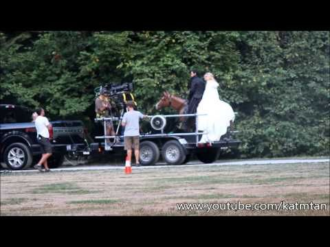 Once Upon A Time 5x04 BTS - Captain Swan - 17 august 2015