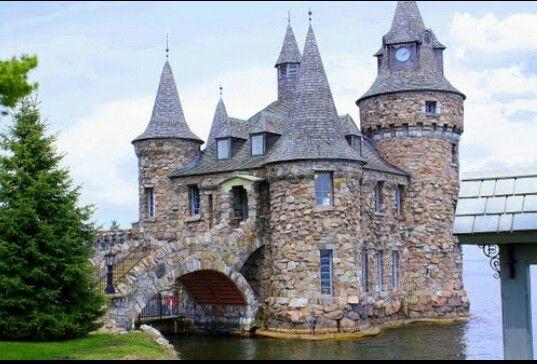 Power house at boldt castle, heart island, Alexandria bay, NY