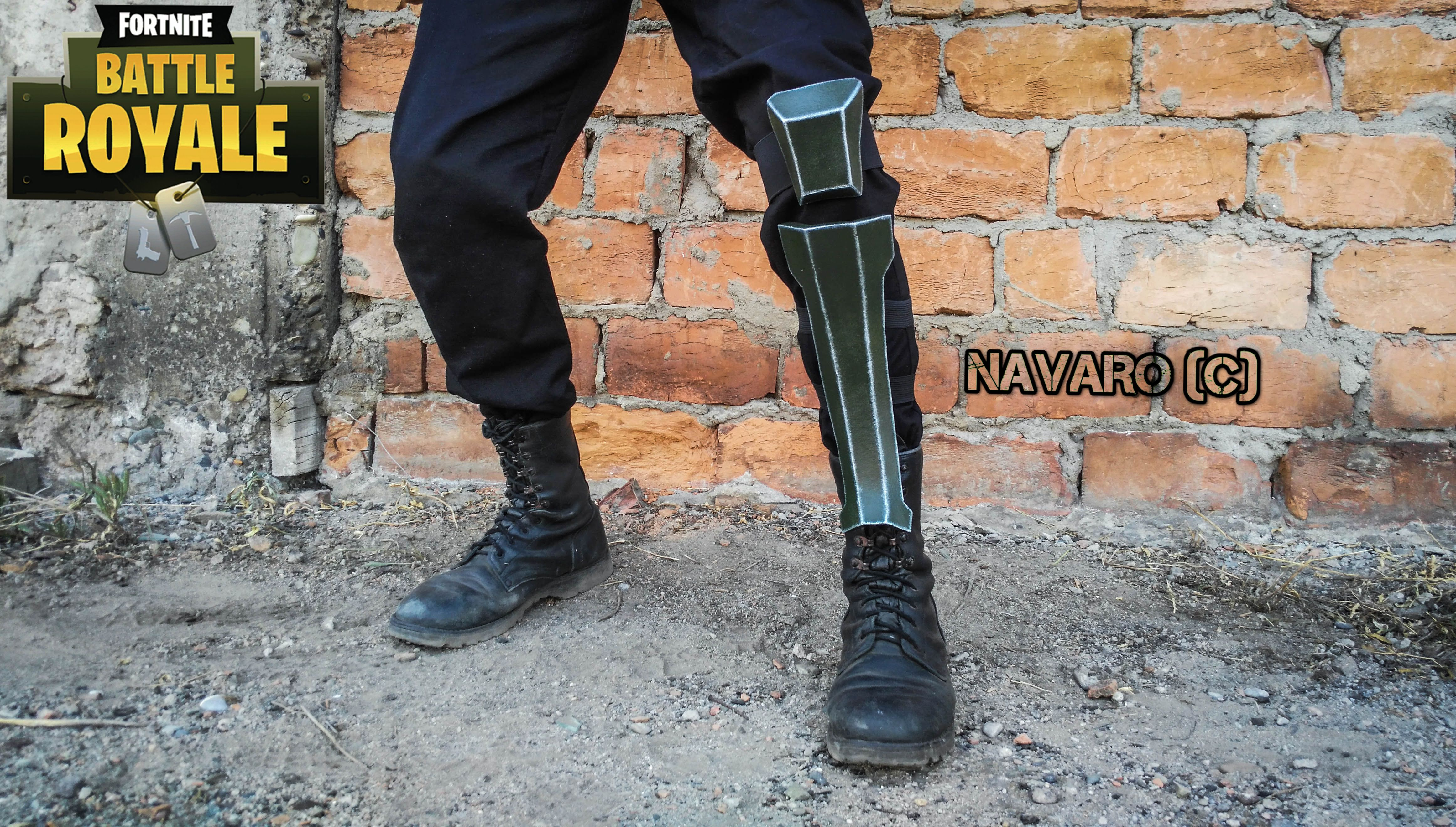 FORTNITE Cosplay - Shin Guards Armor - Fortnite Armor ...