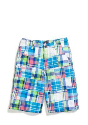 J Khaki Patchwork Shorts Boys 8-20 | Shorts, Boys and Products