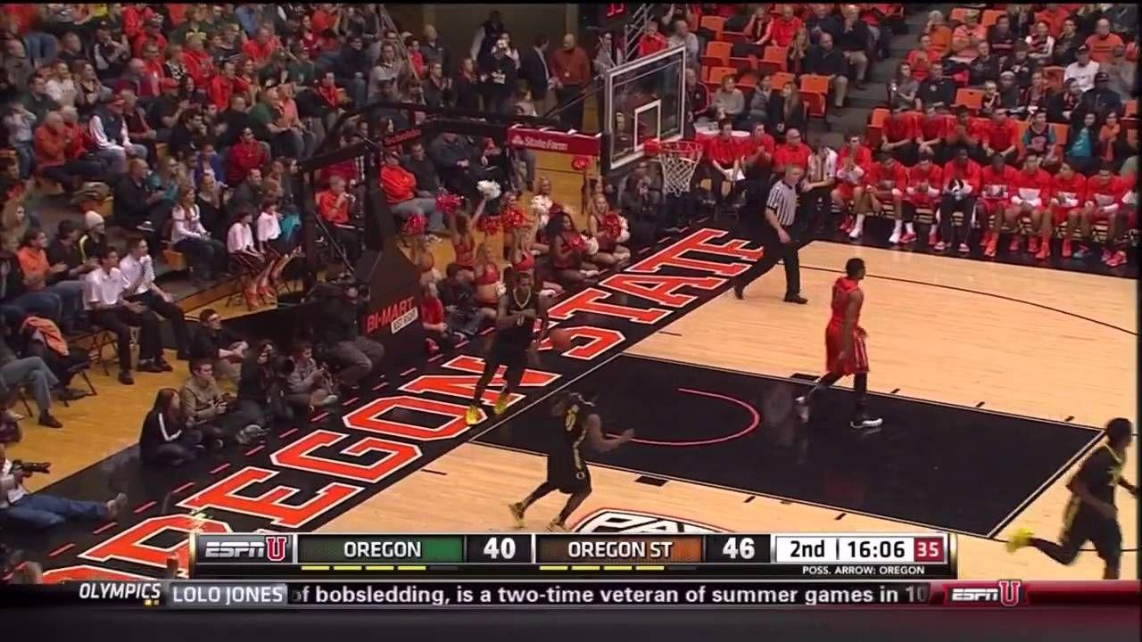 Men's Basketball Highlights OSU vs. Oregon, 1/19/14