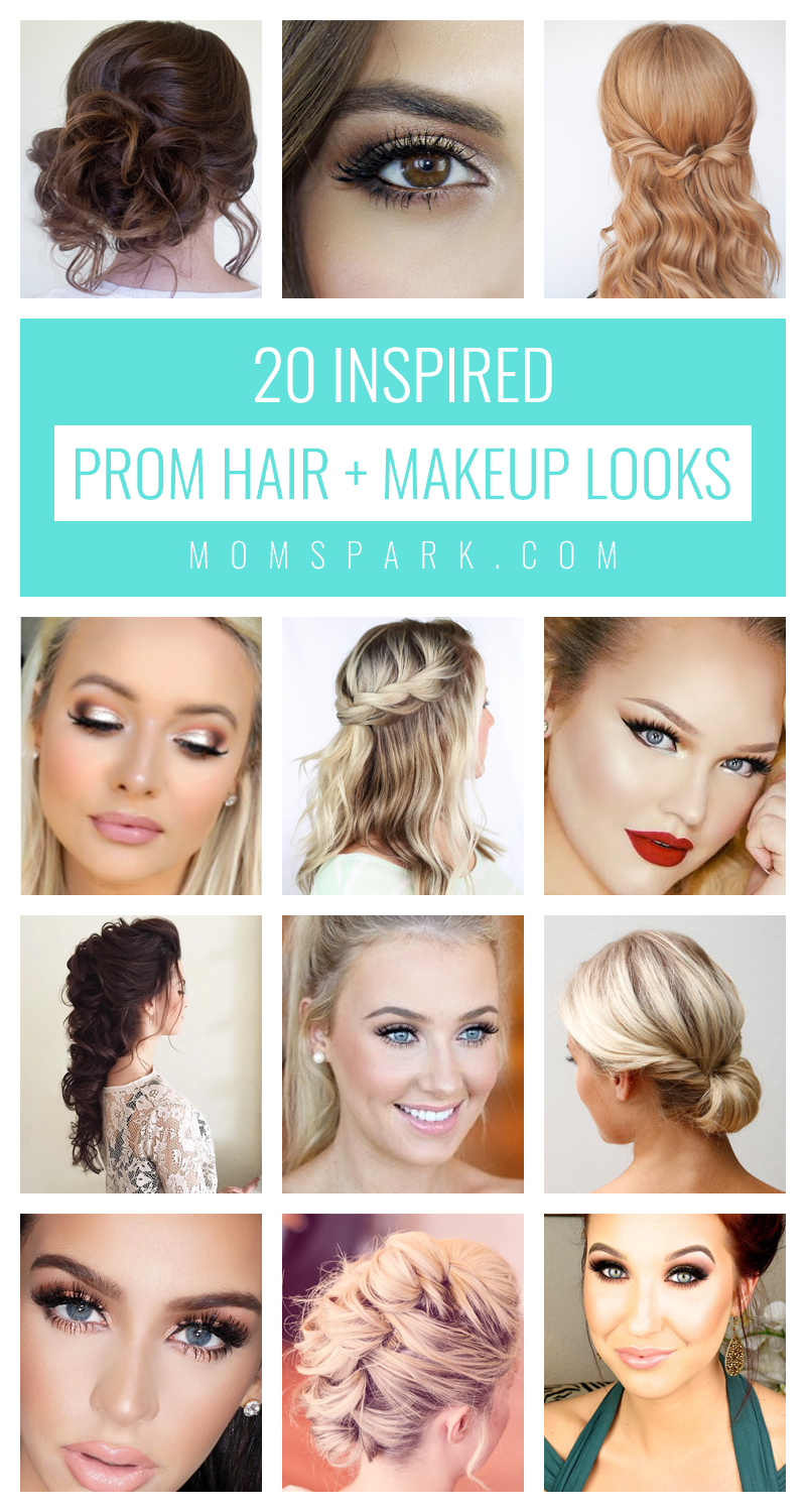 You Ve Already Found The Perfect Dress Your Feet Will Be Super Happy With The Stellar Shoes You Bought Your A Hair And Makeup Tips Prom Hair Simple Prom Hair