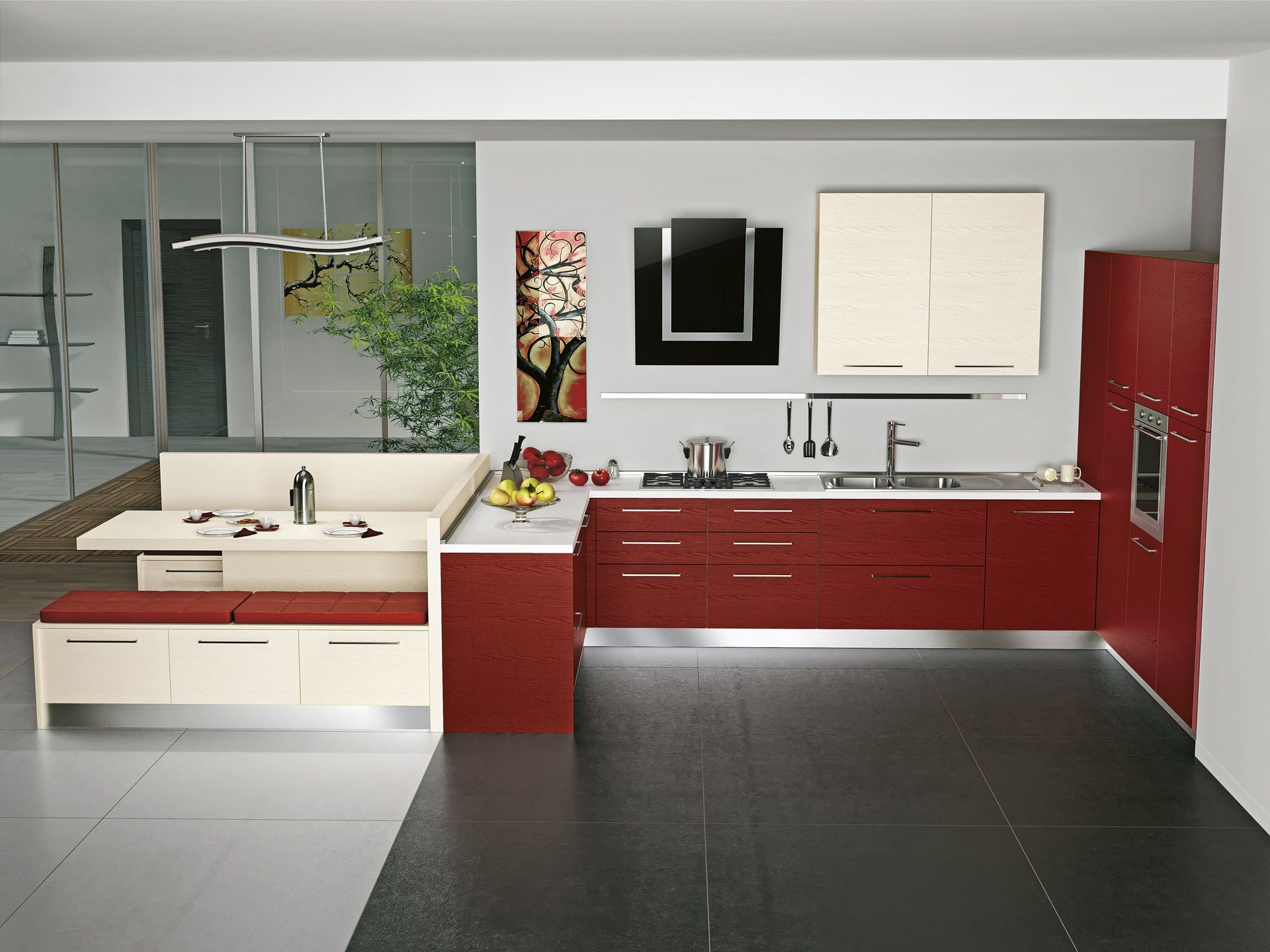 Idee per pitturare cucina classica - Pitturare la cucina ...