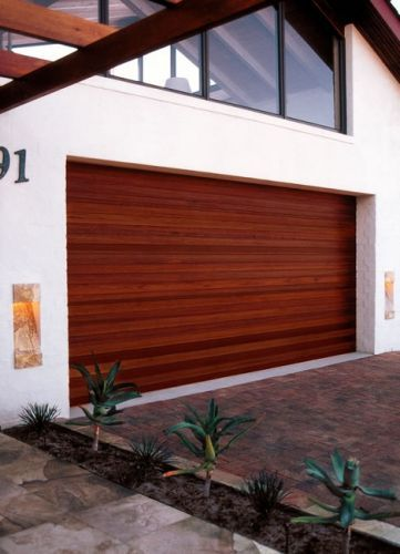 Coroma Garage Industrial Doors Coroflute Wood Modern Garage