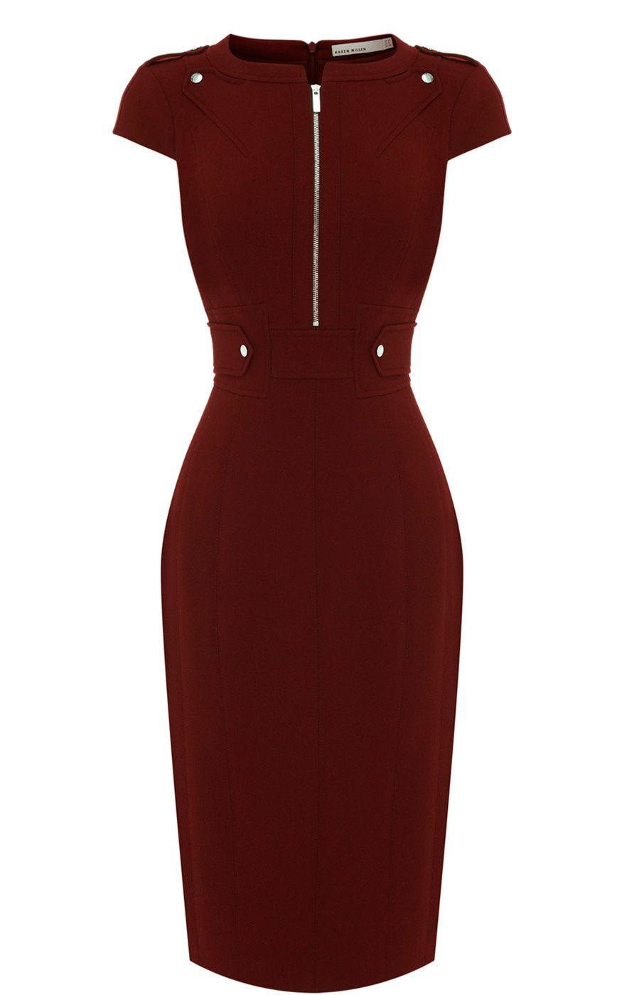 502771c71058 Karen Millen Military tailored dress   I Love Fashion   Dresses ...