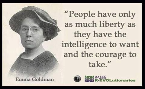 People Have Only As Much Liberty As They Have The Intelligence To
