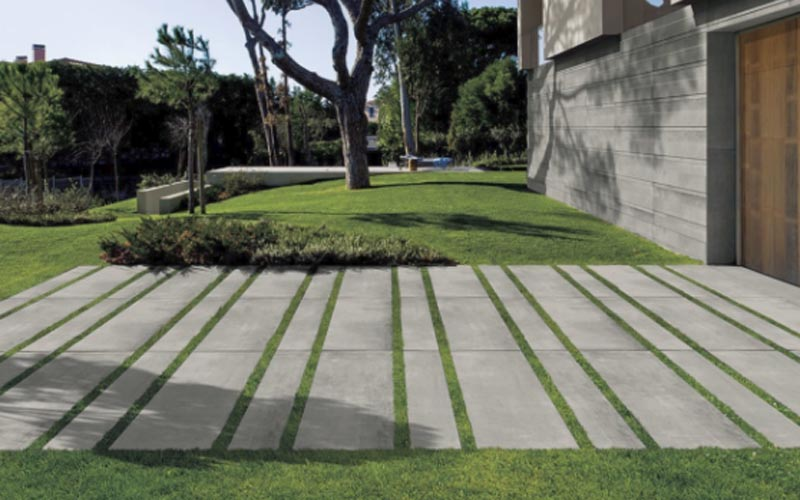 Versatile Porcelain Landscape Pavers And Patio Pavers From Archatrak Landscape Pavers Paver Patio Concrete Patio Designs