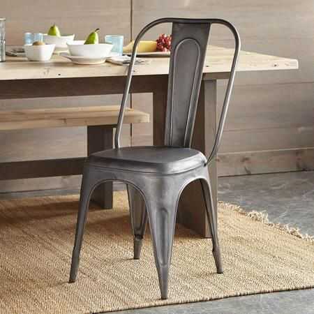 FOUNDRY DINING CHAIR   Our Comfortable Metal Side Chairs Make Excellent  Accents For All Kinds Of