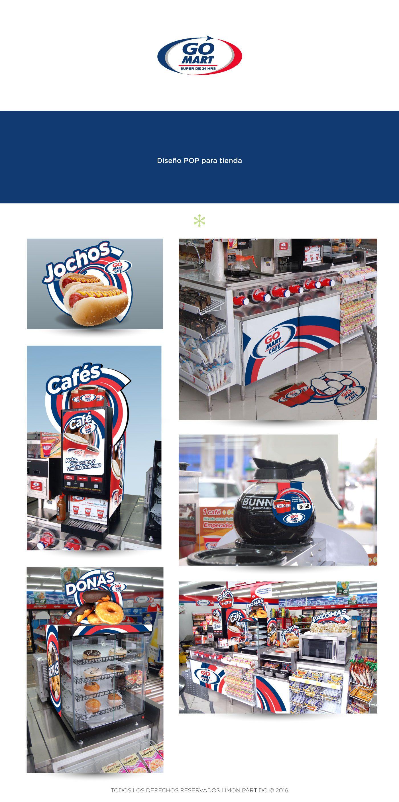 Diseño POP para tienda