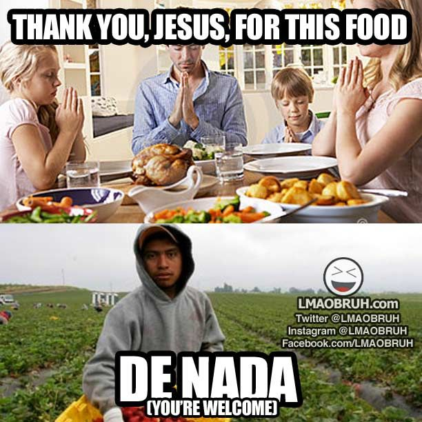 Thank You Jesus For This Food Meme