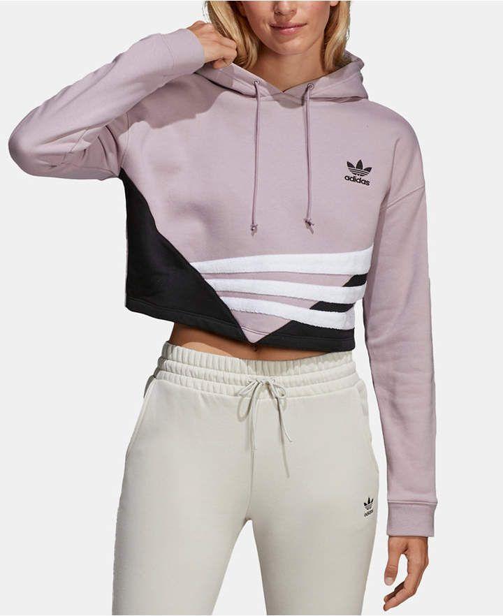 adidas Originals Women's Cropped Hoodie
