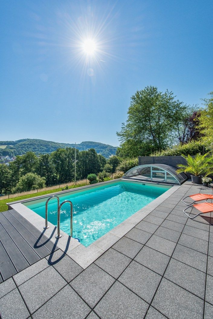pool g nstig bauen haus und garten in 2019 swimming pools swimming und outdoor living. Black Bedroom Furniture Sets. Home Design Ideas