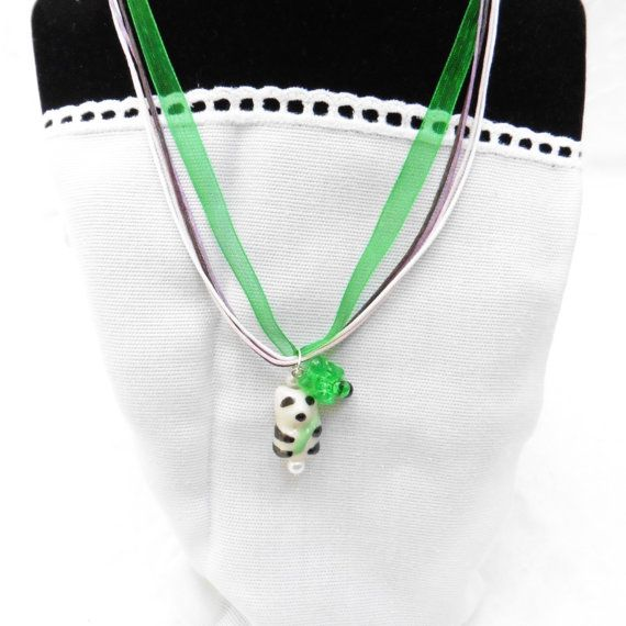 Photo of Panda Bear Necklace, 3 Styles, Listing for 1, women's jewelry, girls jewelry,  jewelry, women, Panda, Panda Bear