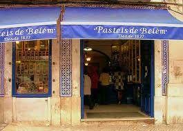 Beyond these doors....custard tart paradise.  Pasteis de nata,  Belem, Lisbon. Google Search