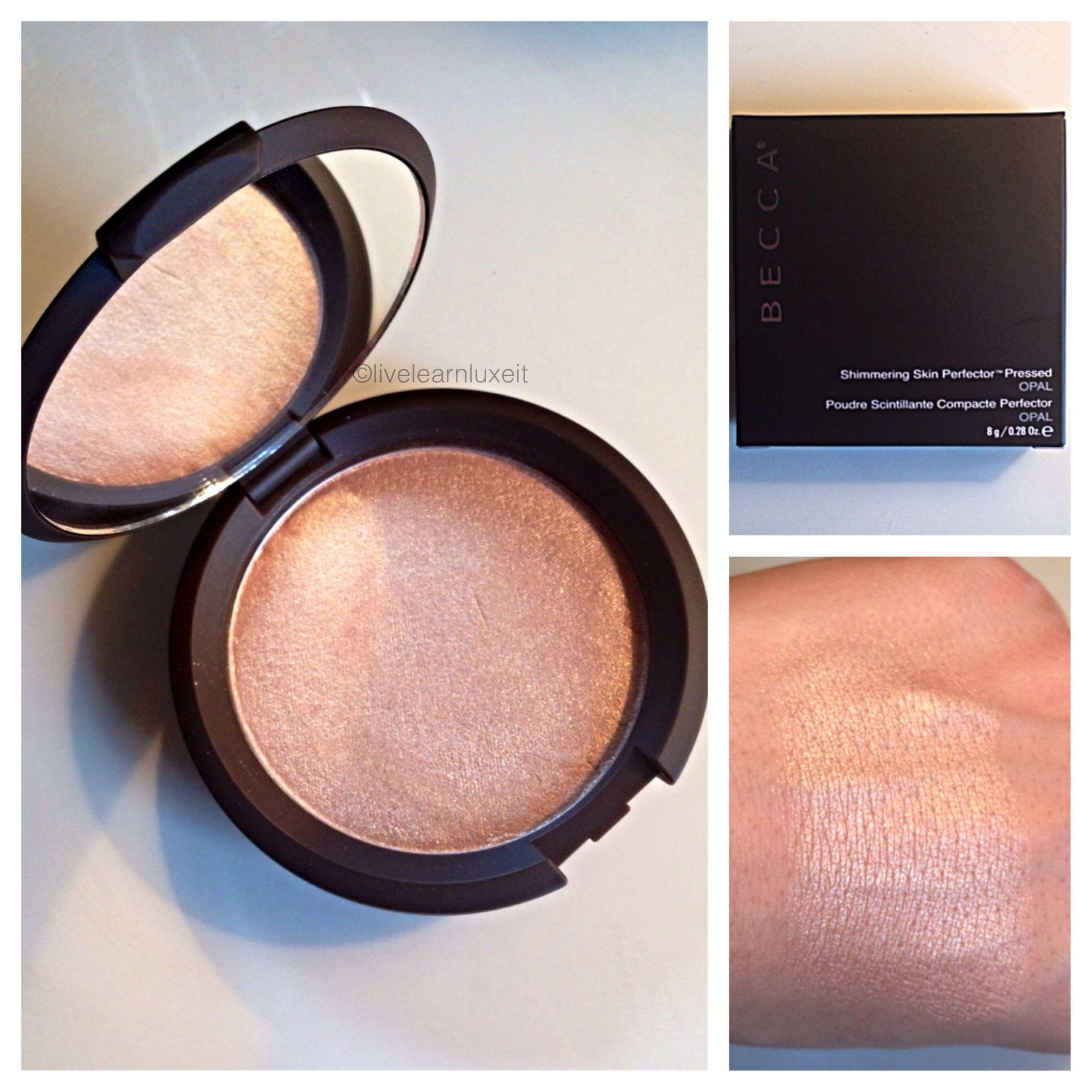 Becca Opal Swatch Becca opal, Cosmetic skin care