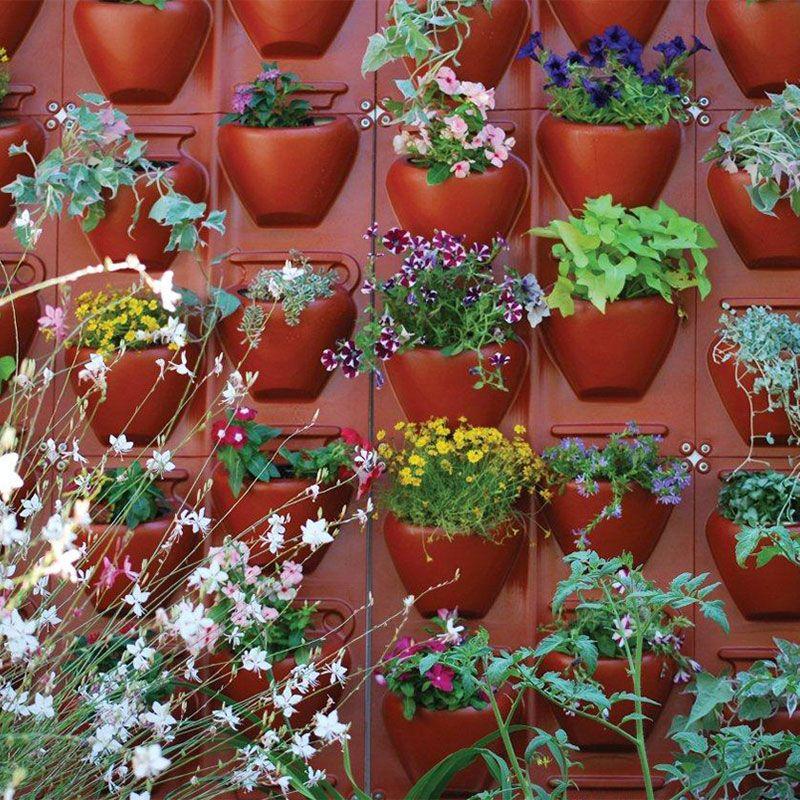 Plantscape Terra Vertical Garden - Plant Containers
