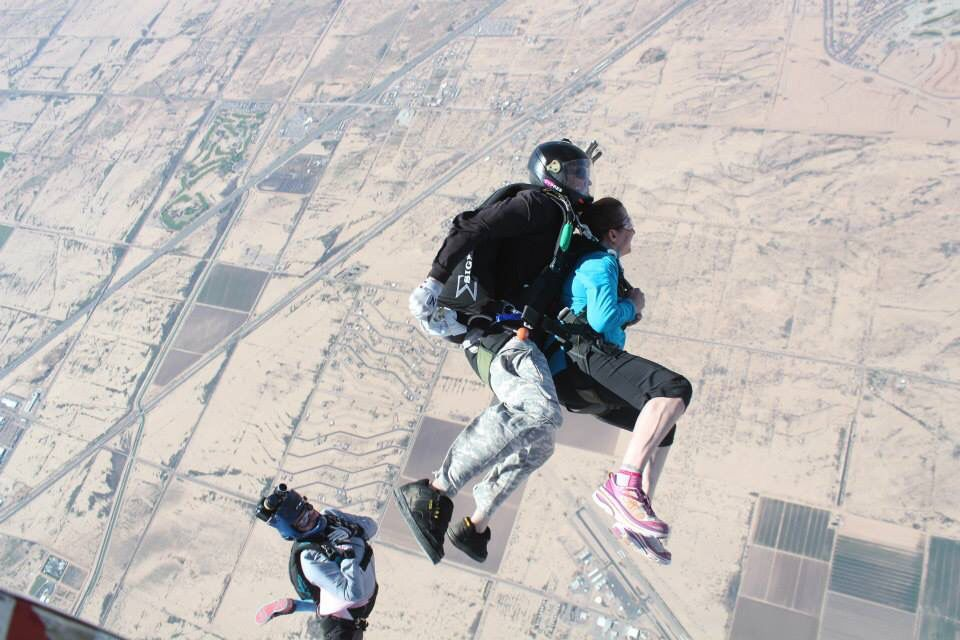 The Feeling Of Tandem Skydiving (With images) Skydiving