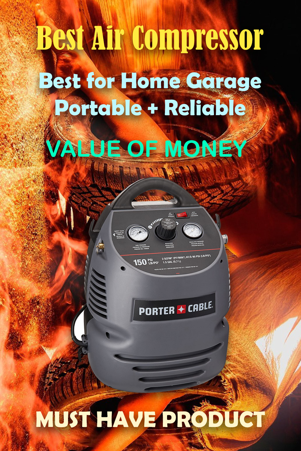 Best Air Compressor For Garage 2020 in 2020 Cool things