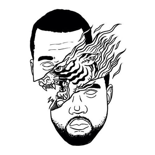 Kanye West Illustration