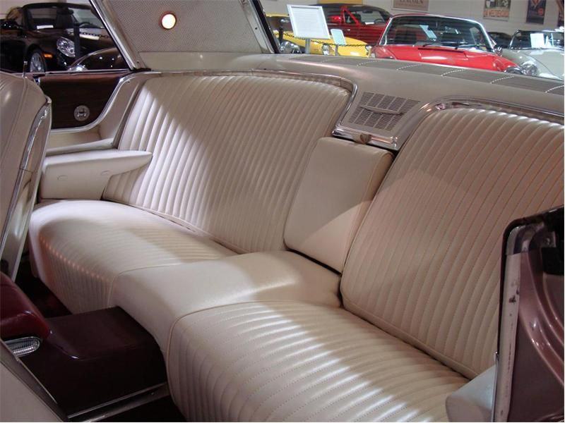 1965 Ford Thunderbird Rose Beige With White Interior Nicest