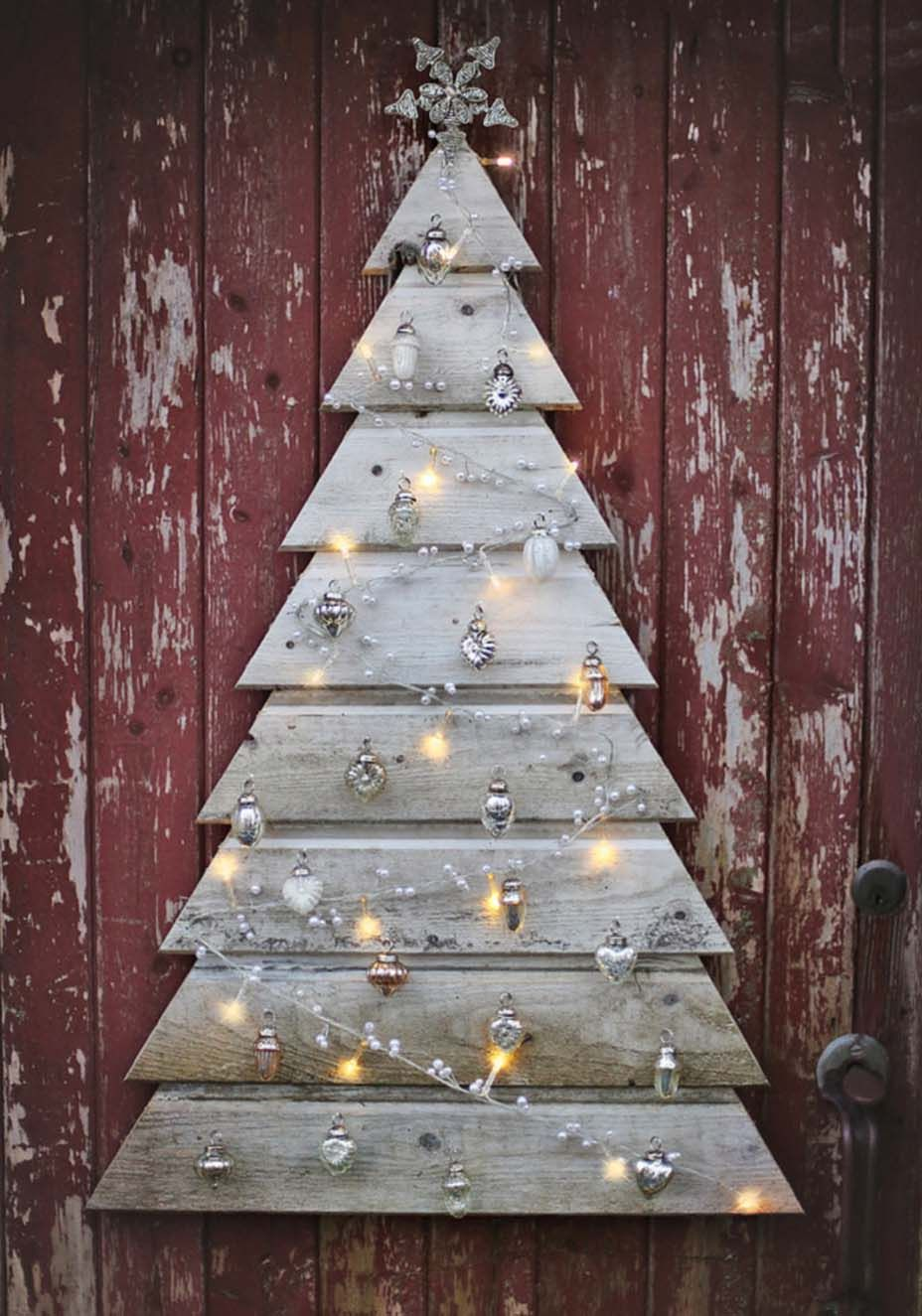 30 Amazingly Brilliant Diy Christmas Tree Alternatives Pallet Christmas Tree Pallet Christmas Wooden Christmas Trees