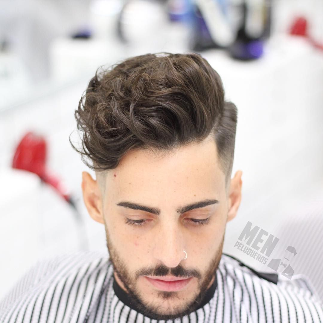 Simple Waves Hairstyles For Men Curly Hair Men Curly Hair Styles Curly Hair Styles Easy
