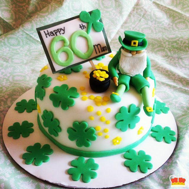 An Irish leprechaun birthday cake