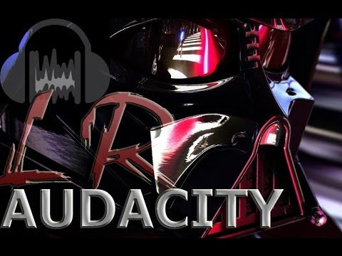 """Audacity Tutorial   How To Create Darth Vader Voice in 5 mins   """"Now Eve..."""