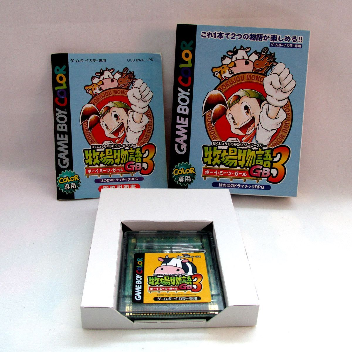 Color game japanese - Bokujou Monogatari 3 Harvest Moon 3 For Game Boy Color In Japanese