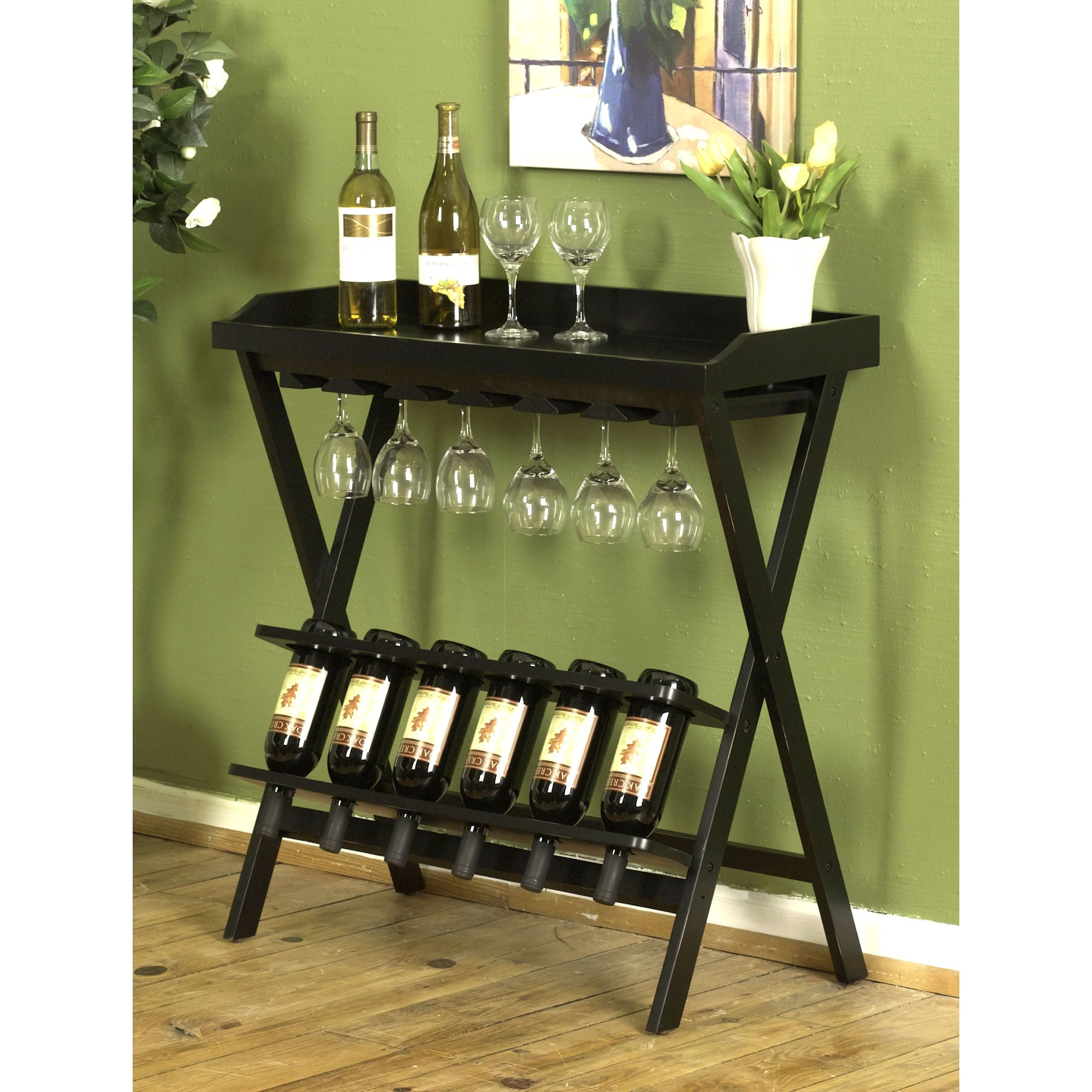 Small Wine Stand Display Your Wine Selection With This Fantastic Wine Rack