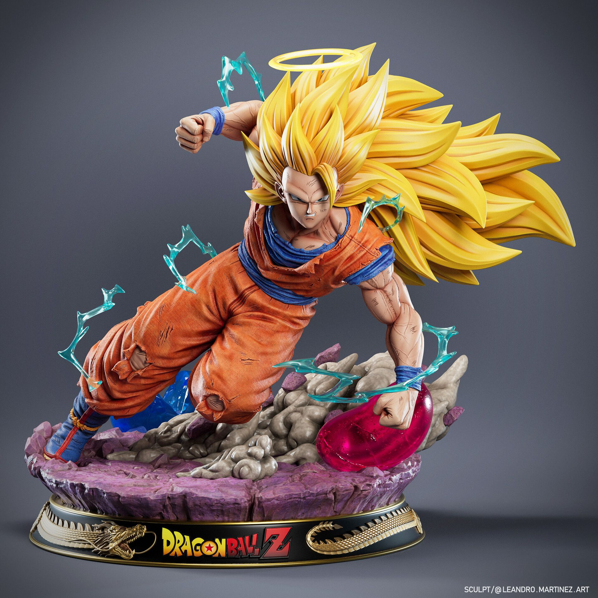 Premium Masterline Dragon Ball Z Son Goku Statue PVC Figure New No Box