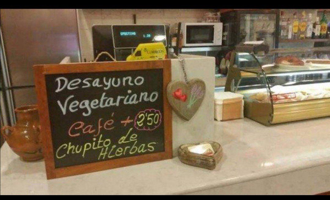 Tiene razón er nota - #cafe #cartel #desayuno #hiervas #imagen #licor