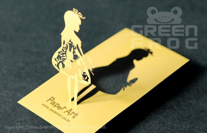 100 Customized Business Cards, Laser Cut Business Cards, Unique Name Cards, 3D Business Cards - Graphic Templates
