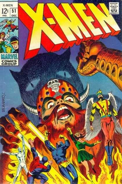 Uncanny X Men Covers 50 99 Jim Steranko Comic Book Covers Comics