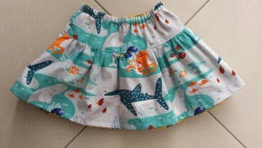 Tadah reversible Rara skirt minions and Dory