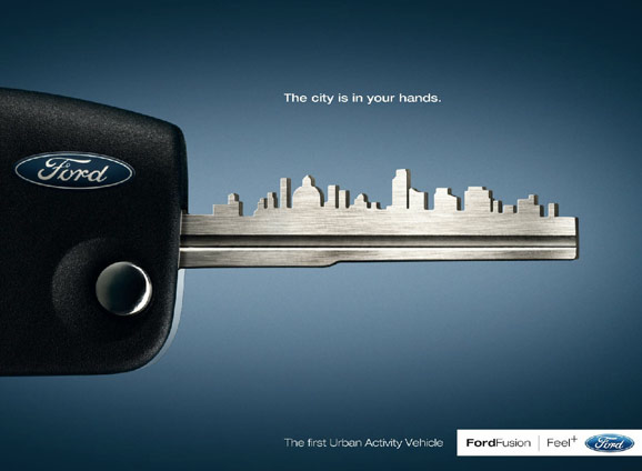 Ford Fusion The City Is In Your Hands 2008 Imagenes