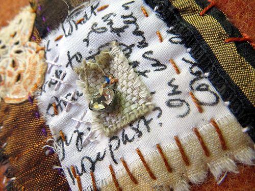 text on textiles: passport | JaneVille.blogspot.com | Flickr