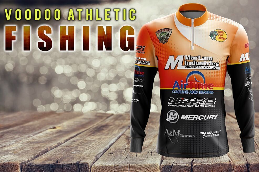 Pin By Voodoo Activewear On Fishing Jerseys Fish Jersey Let It Be