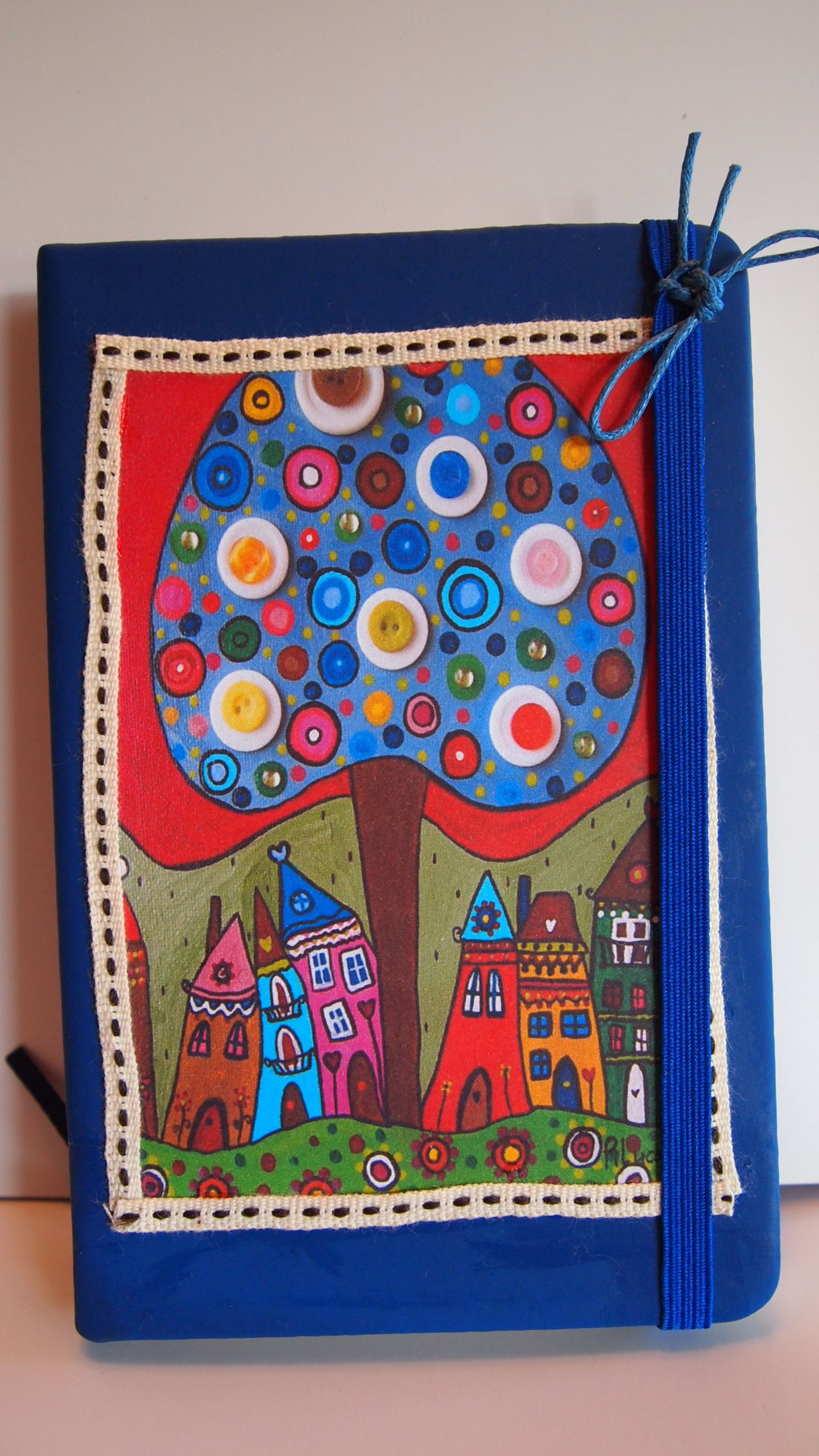 Libretas decoradas con mis dibujos naif. | domy | Pinterest ...