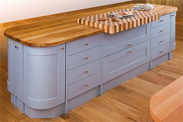Islands for Oak Kitchens - Eclectic | Kitchen, Kitchen ...