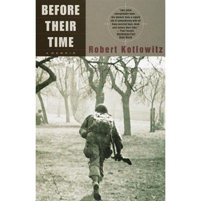 in this memoir of his experiences as a teenage infantryman in the US Third Army during World War II, Kotlowitz brings to life the harrowi...