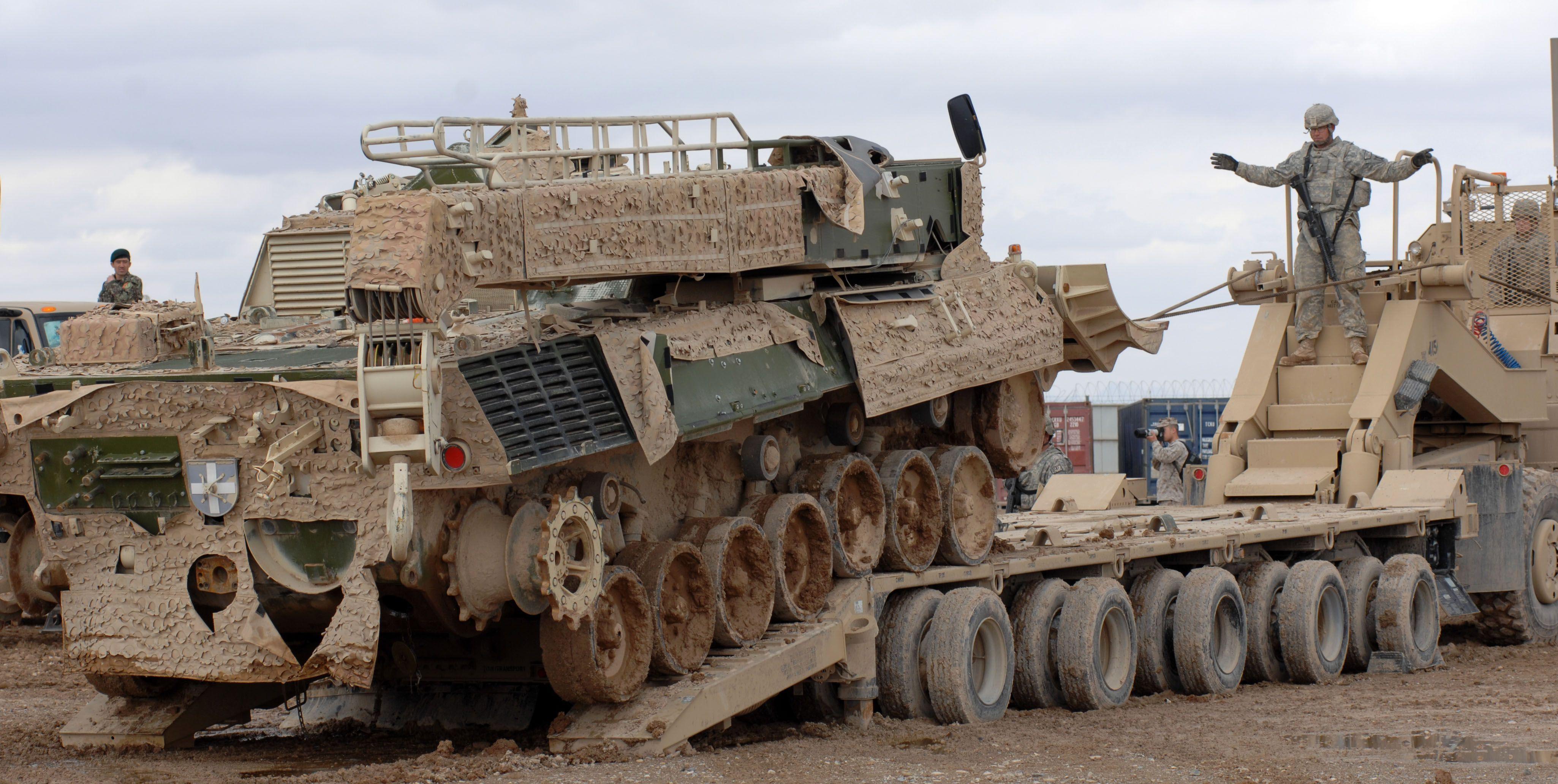 Camp Bastion Interoperability Exercise Trucks Military