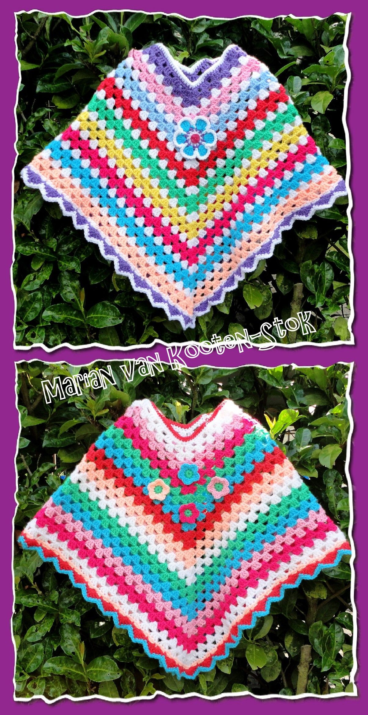 I have used a free pattern from Drops (patroonnr. 89-6) http://www ...