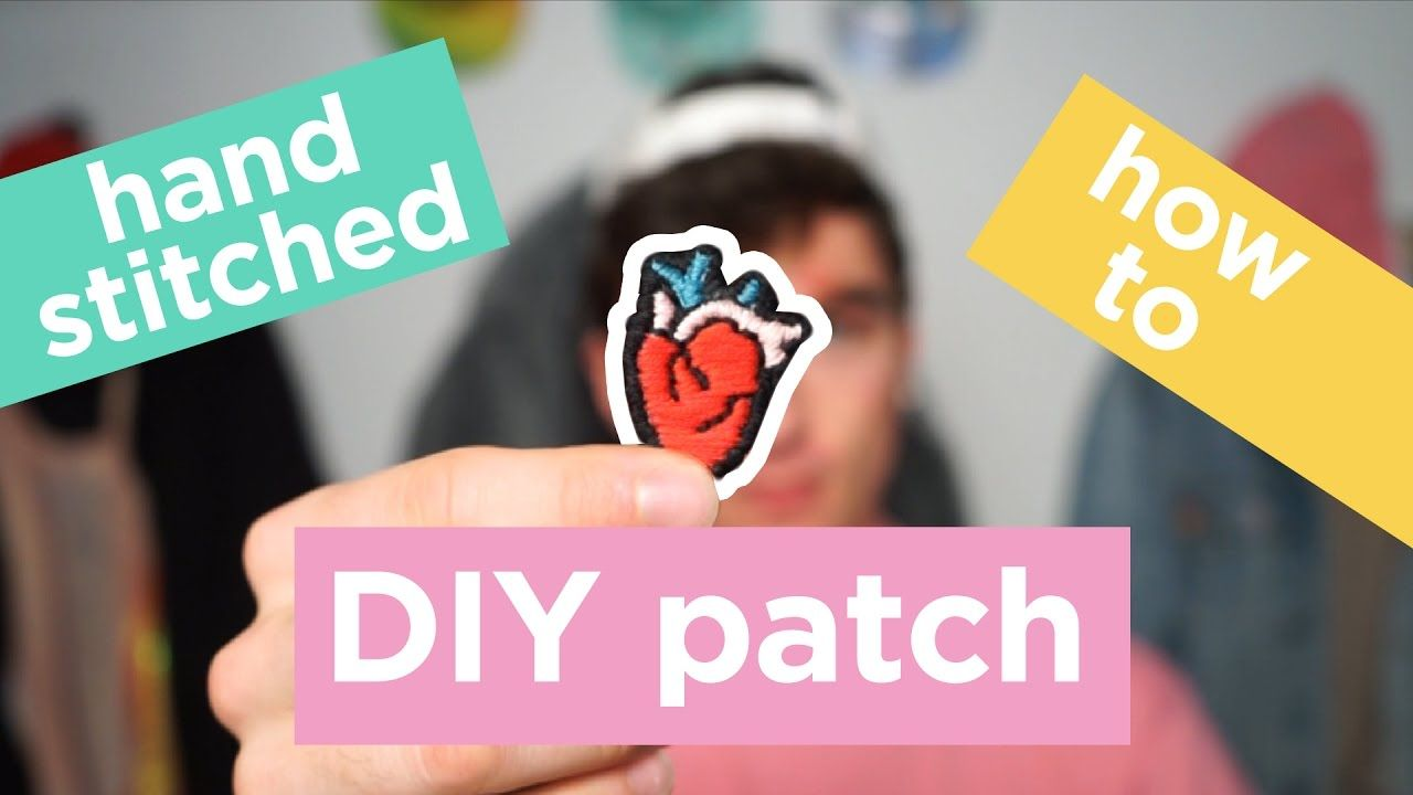 How To Make A Patch DIY Handstitched Patch Dapper