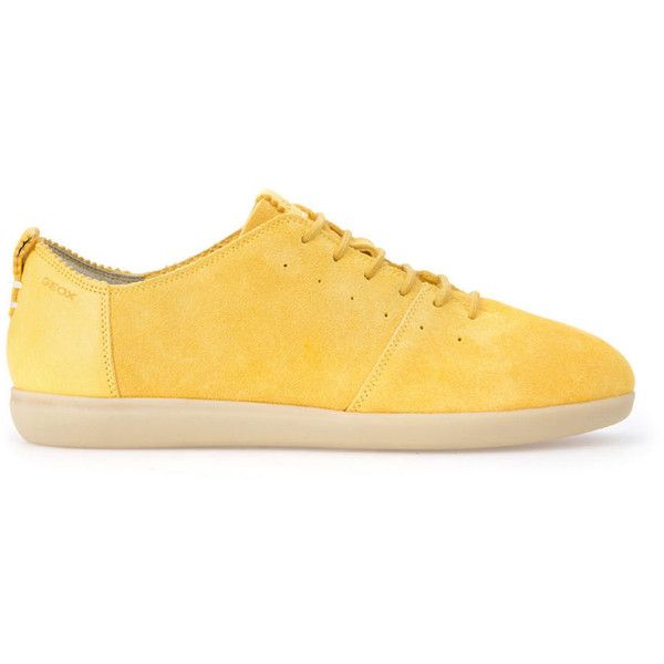 Yellow sneakers, Geox shoes, Yellow shoes