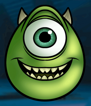 how to draw mike wazowski easy | how to draw a | pinterest