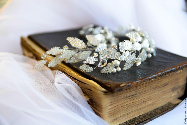 Купить Свадебное украшение для прически с жемчугом