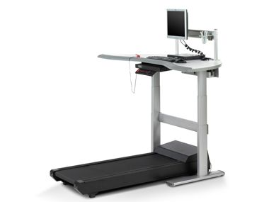 Treadmill Desk For Work Not Sure If I Can Walk And Work At The